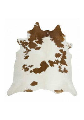 FCR-4 Cow Rug - Natural, Light Brown & White